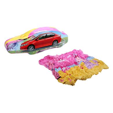 Compressed Towels Car Shape