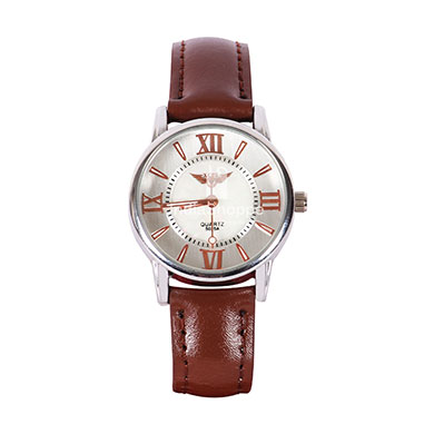 Xcel 5025 Analog Watch for Women Brown