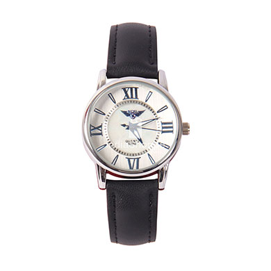 Xcel 5025 Analog Watch for Women Black strap
