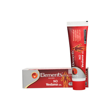 Elements No Vedana Gel 50Gms