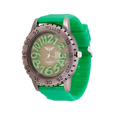Xcel H12 Analog Watch for Men Green