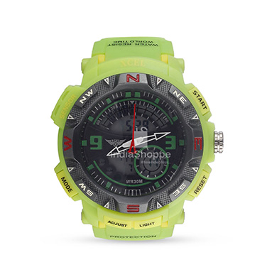 Xcel 3209ME Digital Watch for Men Green