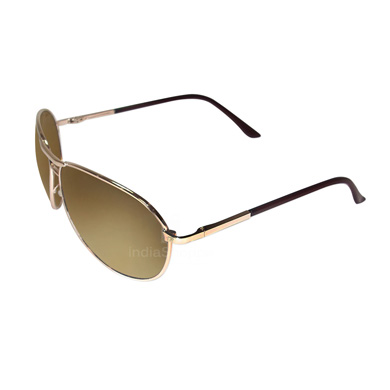 MTV 1013 201 Unisex Sunglasses Brown