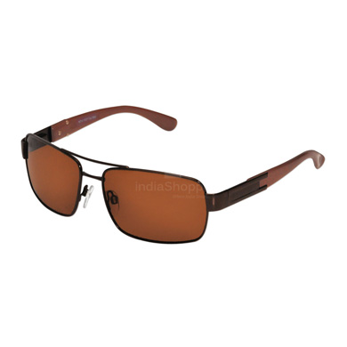MTV 1027 003 Unisex Sunglasses Brown