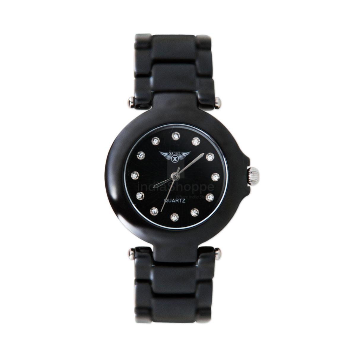 Xcel 8614 Analog Watch for Women Black
