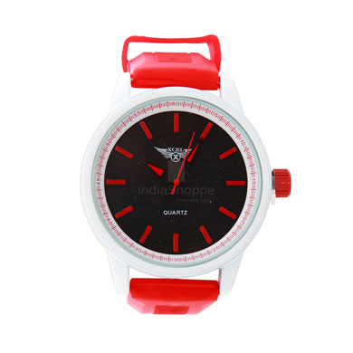 Xcel 6023 Analog Watch for Men Red