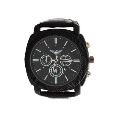 Xcel 6067 Chronograph Watch for Men Black