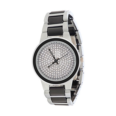 Xcel 5064 Analog Watch for Women White Black