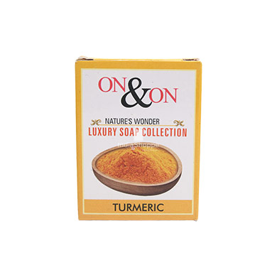 On On Natures Luxury Turmeric Soap