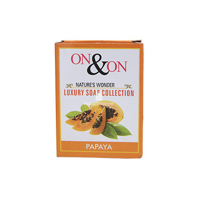 On On Natures Luxury Papaya Soap
