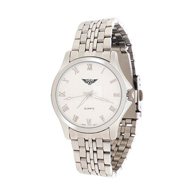 Xcel 8033 Analog Watch for Men Silver White