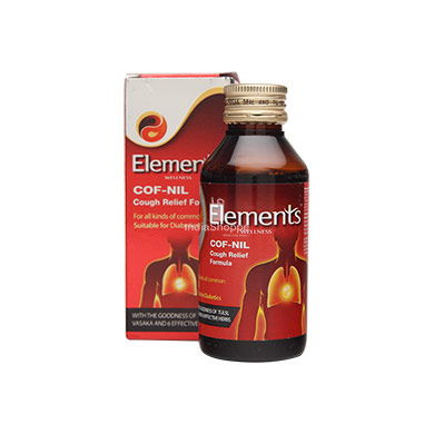 Elements Cof Nil Cough Relief Formula 100ML