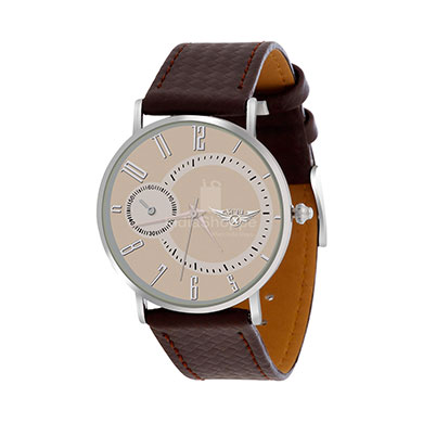 Xcel 6663 5 Analog Watch for Men White Brown