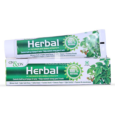 On On Herbal Toothpaste150 gms