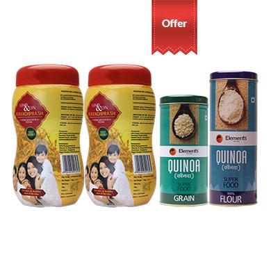 Combo Kavach Prash Quinoa