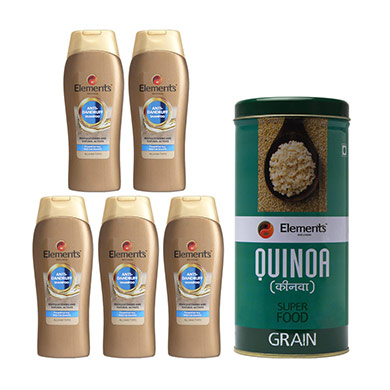 Combo Anti Dandruff and Quinoa Grain