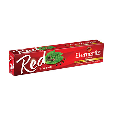 Elements Red Herbal Toothpaste 150GM