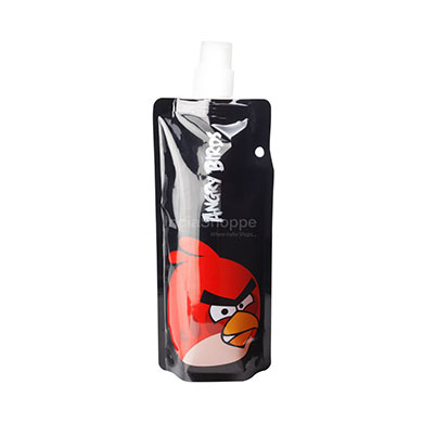 Angry Birds Water Bottle - Black