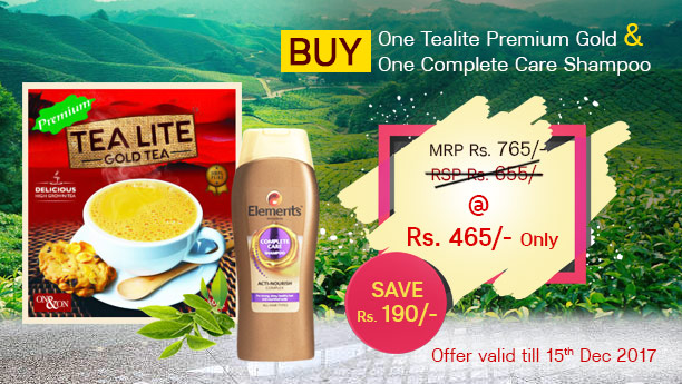 Combo Tealite and Complete Care Shampoo